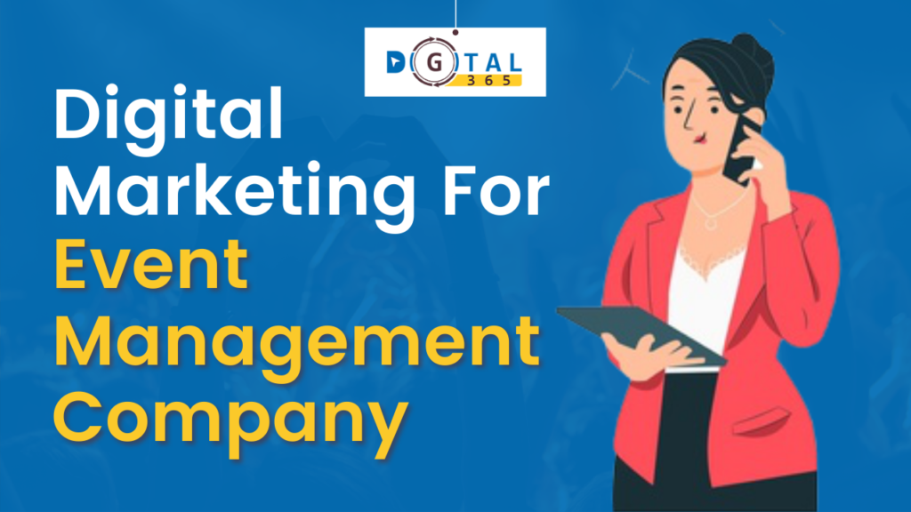 digital marketing for event management company, social media marketing for wedding planners, social media marketing for event planners